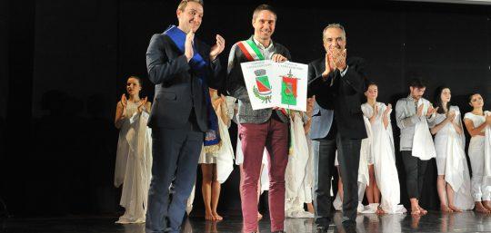 Lodi. dicembre 2019  Bipielle Auditorium,  consegna onorificenze al merito della Repubblica Italiana ai cittadini Francesco Bassanini, Emilio Baroni e Gaetano Carlino.  Prefettura
